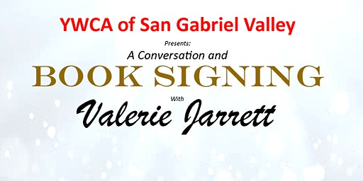 Valerie Jarrett Book Signing Event