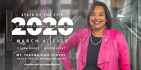 "2020 State of the City Address: ""Our Future in Focus"" tickets"