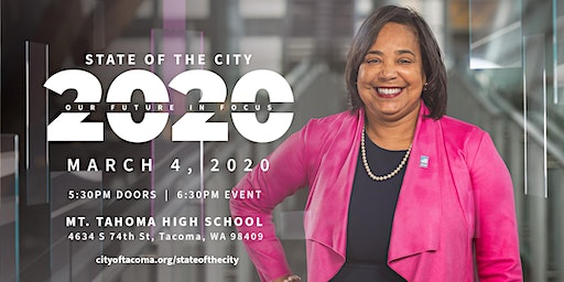 "2020 State of the City Address: ""Our Future in Focus"""