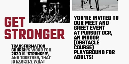 Get Stronger - Toronto Belong Group , Meet & Greet (Transformation Church)