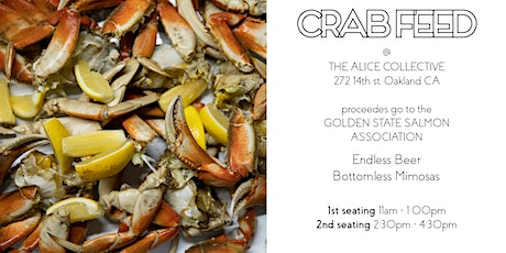 8th Annual CRAB FEED tickets