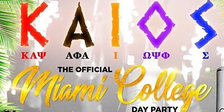 K.A.I.O.S 2ND ANNUAL GREEK COLLEGE DAY PARTY tickets