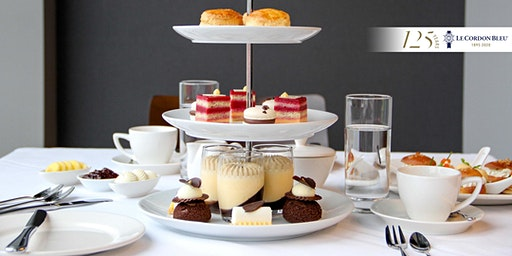 High Tea at Le Cordon Bleu on Friday 28th February 2020