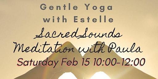 Gentle Yoga and Sacred Sounds Meditation