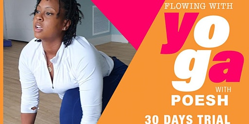 YOGA. Flowing with Porsh your ( free trial)