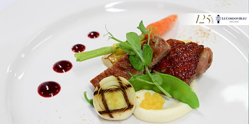 5 Course Dinner on Wednesday 4th March 2020 at Le Cordon Bleu