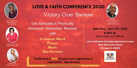 Love & Faith Conference 2020 tickets