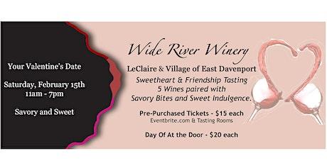 Savory & Sweet Valentines Wine Tasting tickets