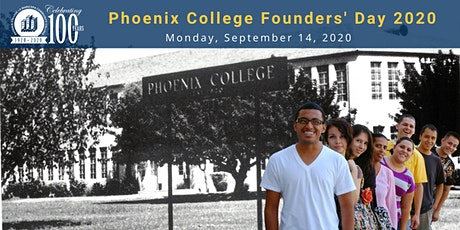 Phoenix College Founders' Day 2020 tickets
