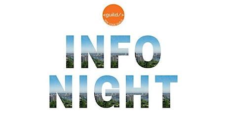 February Info Night tickets