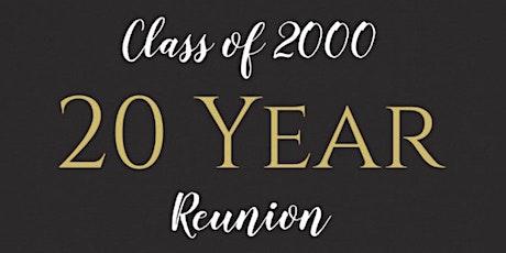 Vanier Grad 2000 20 Year Reunion tickets