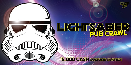 Dallas - Lightsaber Pub Crawl - $10,000 COSTUME CONTEST - May 2nd