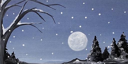 Winter Landscape Painting Adults Class