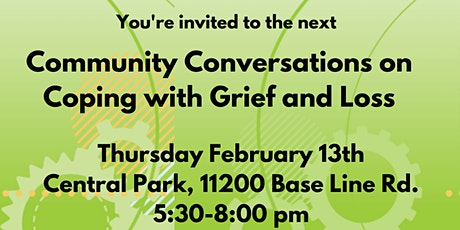 Healthy RC Community Conversations on Coping with Grief and Loss tickets