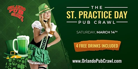 St. Practice Day Pub Crawl tickets