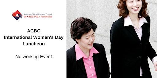 ACBC International Women's Day Lunch 2020