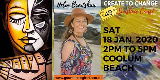 CREATE TO CHANGE ~ A Transformational Creative Safari  to the new YOU