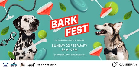 Barkfest: QT Canberra X The Social Dog Company tickets