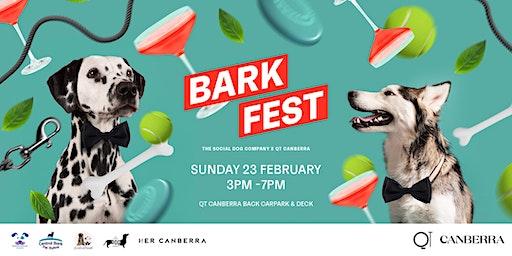 Barkfest: QT Canberra X The Social Dog Company