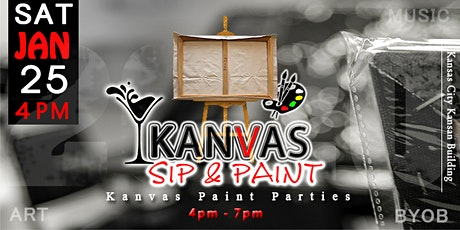 Kanvas Sip & Paint tickets