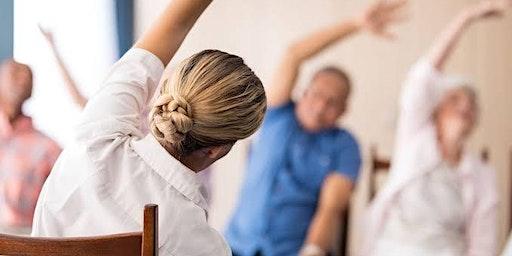 Seniors Festival:  Armchair Yoga - Hallidays Point