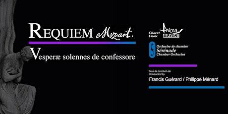Choeur Anima Musica / Orchestre Sérénade - Mozart à Westmount! billets
