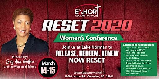 RESET 2020  WOMEN'S CONFERENCE OF EXHORT