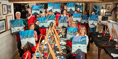 Northern Lights Brush Party - Portishead