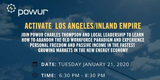 LOCAL OPPORTUNITY AND TRAINING EVENT - LOS ANGELES, CALIFORNIA