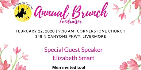 New Day for Children Annual Brunch with Elizabeth Smart tickets