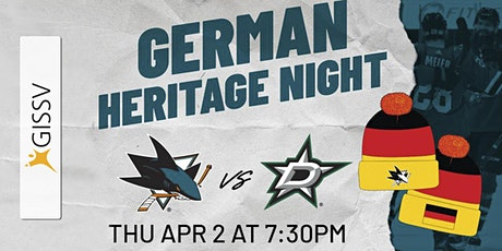 San Jose Sharks German Heritage Night tickets