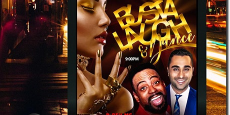 """BUSTALAUGH"" & Dance Party-Def Jam TP Hearn & Sherv, BOMBAY Ultra Lounge tickets"
