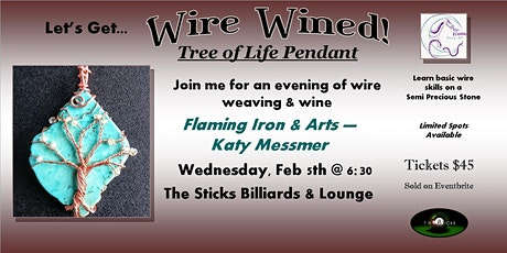 Wire Wined Tree of Life Pendant tickets