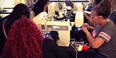 Greenville SC | Lace Front Wig Making Class with Sewing Machine