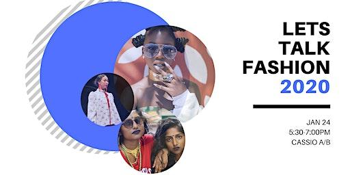 Let's Talk Fashion
