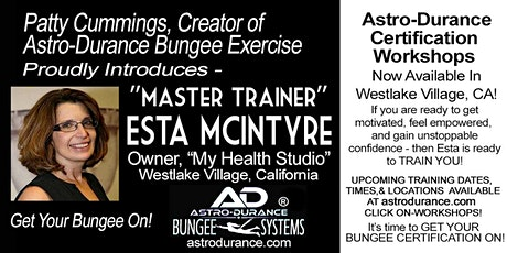 ASTRO-DURANCE 1-Day Master Trainer Bungee Workshop, California, March 13, 2020 tickets