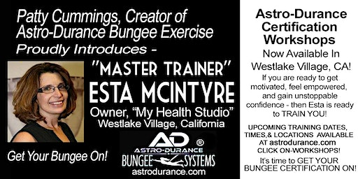 ASTRO-DURANCE 1-Day Master Trainer Bungee Workshop, California, March 13, 2020