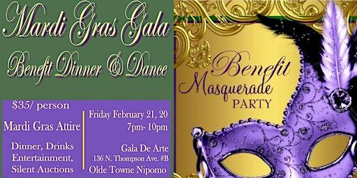 Mardi Gras Masquerade Benefit Dinner & Dance