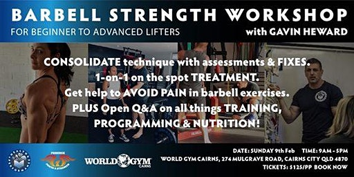 1 day Barbell Strength Workshop