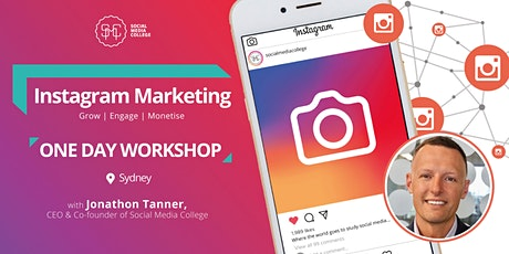 Instagram Marketing - Grow | Engage | Monetise - SYDNEY tickets