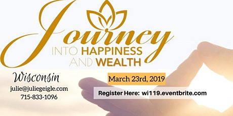 MARCH Journey into Happiness IN-PERSON ONLY tickets