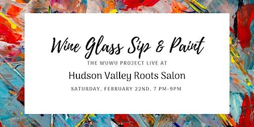 Wine Glass Sip & Paint
