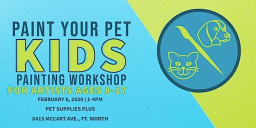 Paint Your Pet Kids