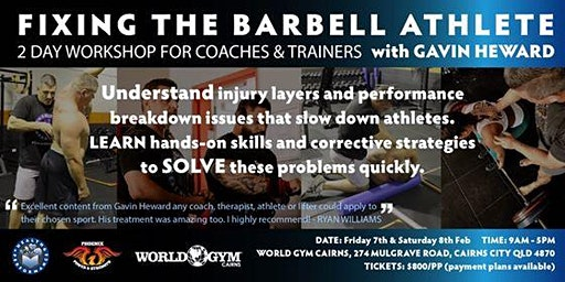 Fixing The Barbell Athlete Workshop