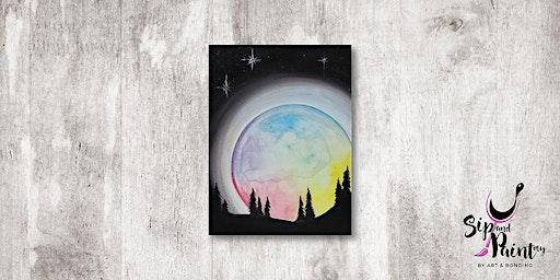 Sip & Paint MY @ Hubba Mont Kiara : Galaxy Ball