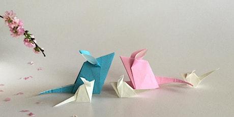 Origami Making with Midori Furze tickets