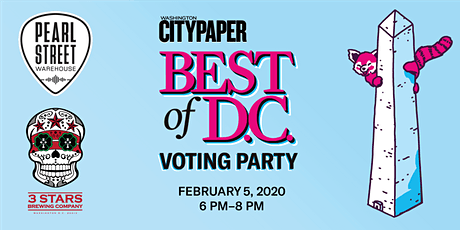 Washington City Paper's Best Of D.C. Voting Party tickets