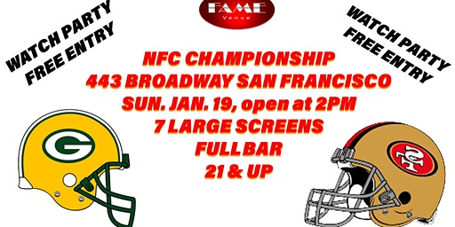 2020 NFC Championship Game (Watch Party)