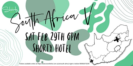 South Africa Night V tickets