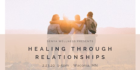 Healing Through Relationships tickets